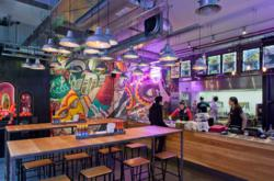 i-am associates interior restaurant design for Chilango's latest restaurants.